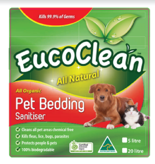 eucoclean pet bedding sanitizer