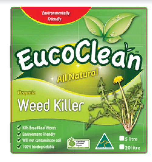 EucoClean Organic Weed Killer 5L