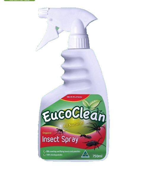 EucoClean Organic Insect Spray 750ml