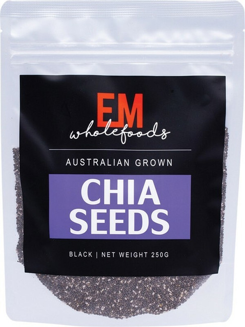Em Wholefoods Chia Seeds Australian Grown 250g