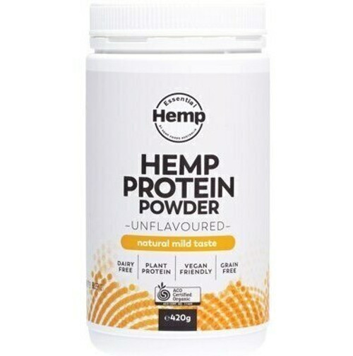 Essential Hemp Organic Hemp Protein Powder Unflavoured 420gm