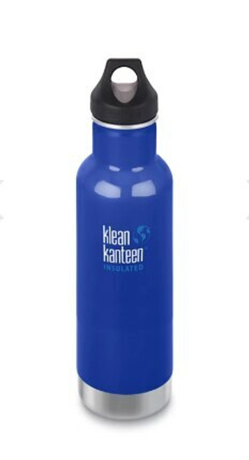 Klean Kanteen (592ml) 20oz Insulated Drink Bottle Coastal Waters