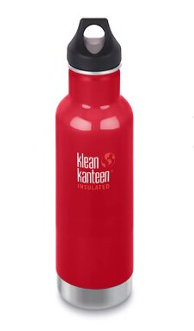 Klean Kanteen 20oz Insulated Drink Bottle Mineral Red