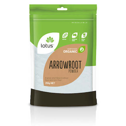 Lotus Arrowroot Organic Powder 250g