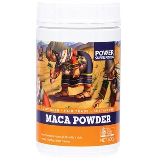 Power Super Foods Maca Powder (Tub) 500g