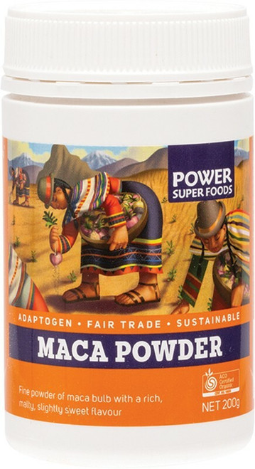 "POWER SUPER FOODS Maca Powder ""The Origin Series"" 200g"