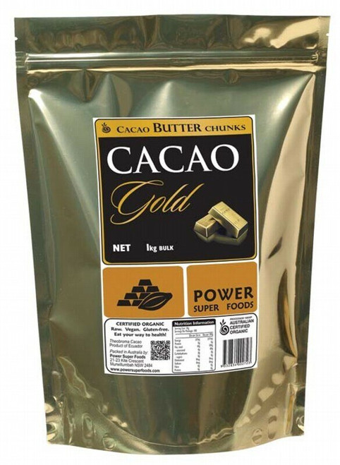 Power Super Foods Cacao Butter Chunks 1 kg
