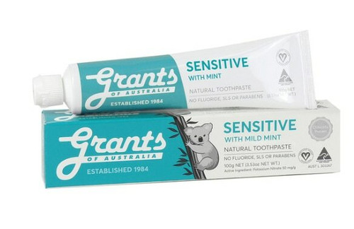 Grants Toothpaste Sensitive with Mint 100g