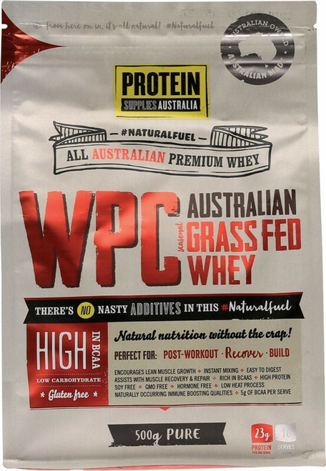 Protein Supplies Australia Whey Protein Concentrate (WPC) 500g