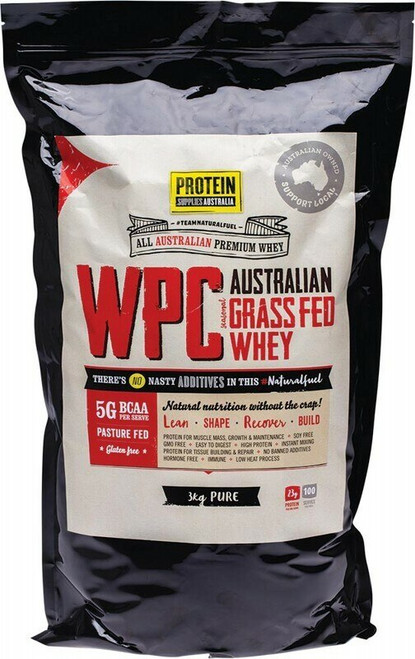 Protein Supplies Australia Whey Protein Concentrate (WPC) 3kg