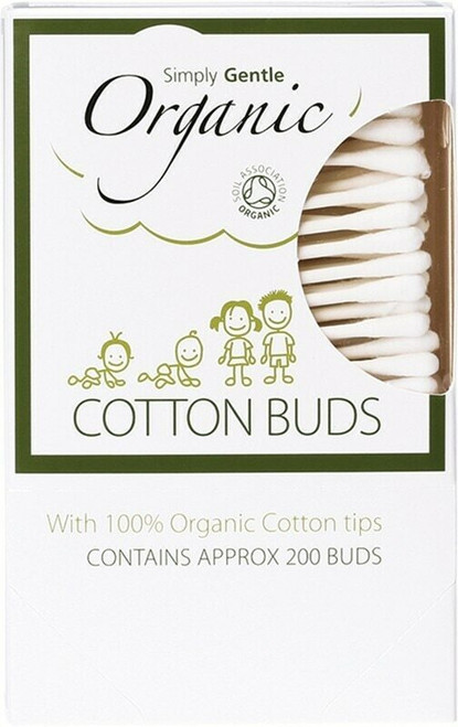 Cotton Buds 200 Buds By Simply Gentle