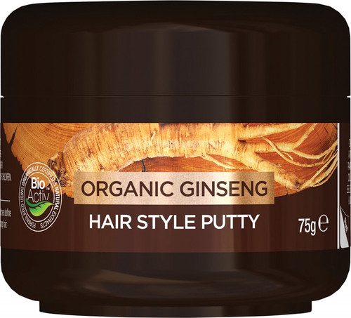 Dr Organic Men's Hair Style Putty Organic Ginseng 75g