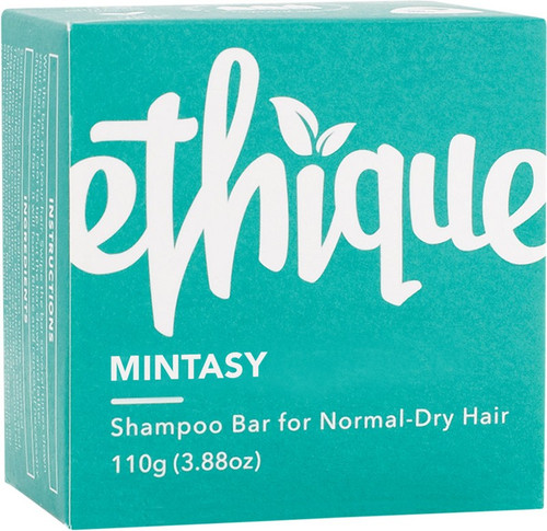 Ethique Solid Shampoo Bar Mintasy Normal To Dry Hair 110g