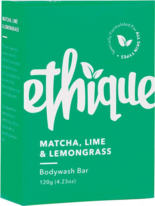 Ethique Solid Bodywash Bar Matcha, Lime & Lemongrass 120g