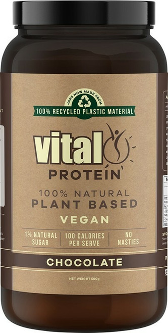 Vital Protein Chocolate Pea Protein Isolate 500g