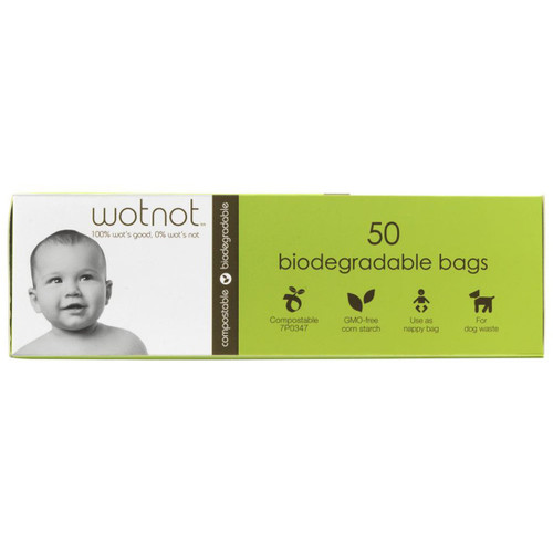 Wotnot Nappy Bags 50 Bags