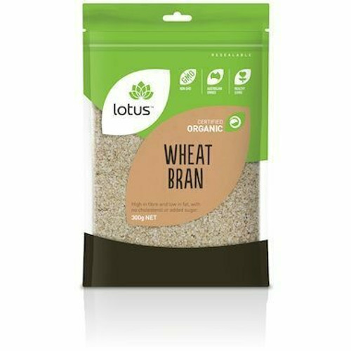 Lotus Wheat Bran Organic 300g