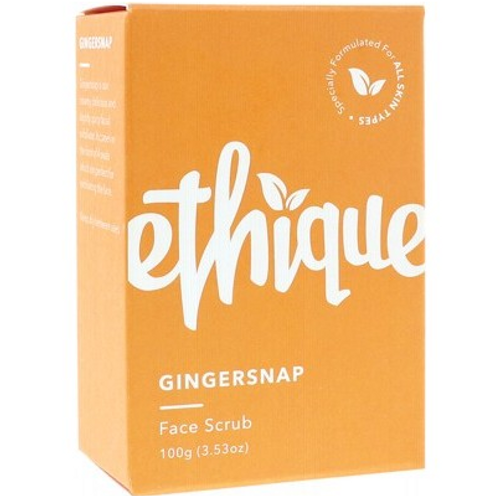 Ethique Solid Face Scrub Bar Gingersnap 100g