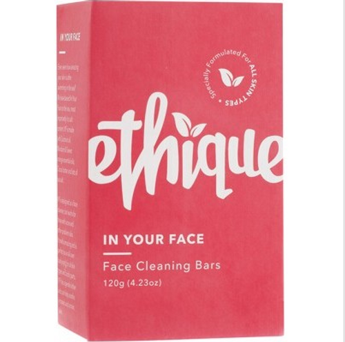 Ethique Solid Face Cleanser Bar In Your Face 120g