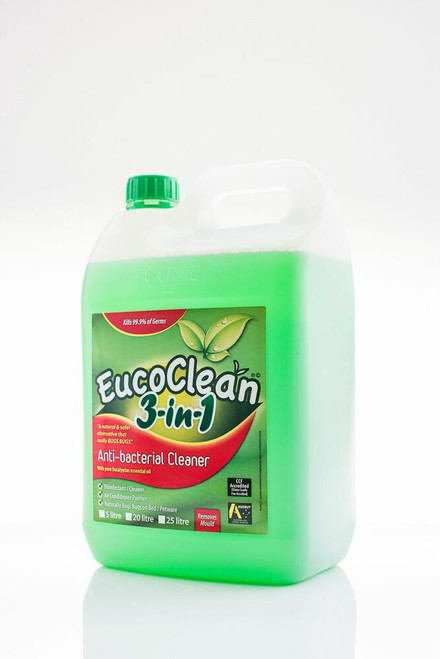 Eucoclean Anti Bacterial Cleaner 3 in 1 With Pure Eucalyptus 5L