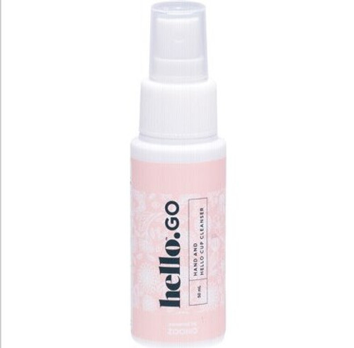 The Hello Cup Hello Go Hand And Hello Cup Cleanser 50ml