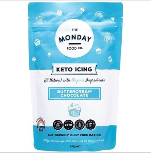 The Monday Food Co Keto Icing Chocolate Buttercream 240g