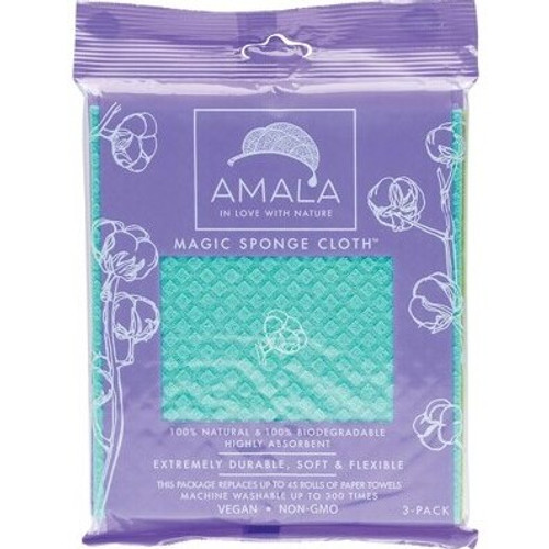 Amala Magic Sponge Cloth 100% Biodegradable 3