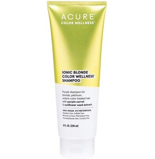 Acure Ionic Blonde Colour Wellness Shampoo 236ml