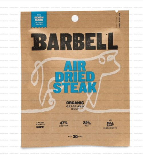 Barbell Foods Benchmark Air Dried Steak 30g x 12