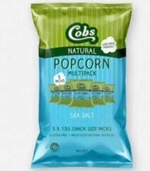 Cobs Popcorn Multipack Sea Salt 5 x 13g