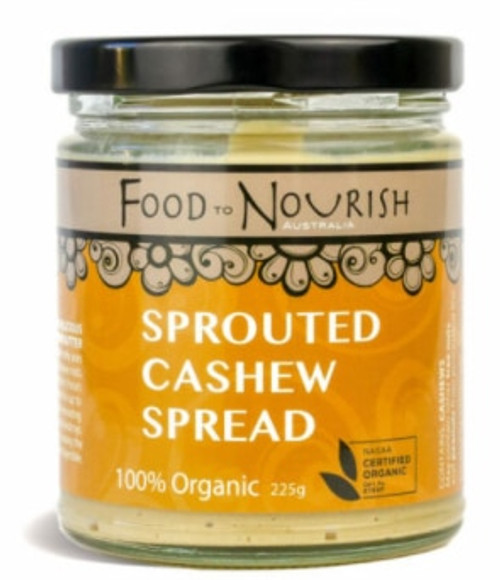 Food to Nourish Spread Sprouted Cashew 225g