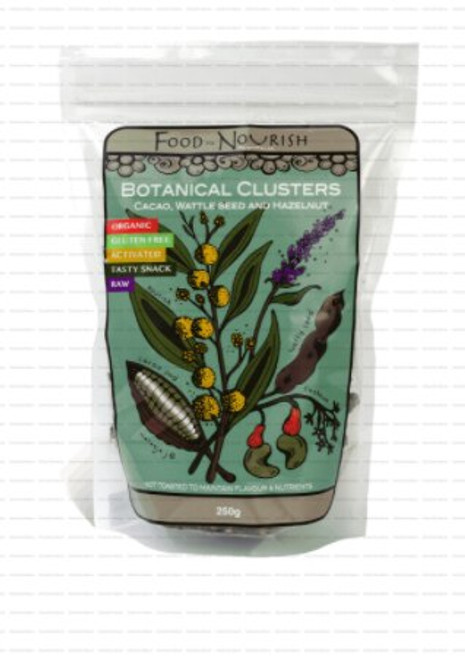 Food to Nourish Clusters Cacao Wattleseed 250g