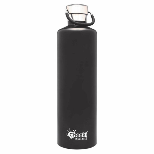Cheeki Insulated Classic Black 1L