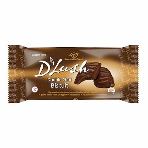 Naturally Good Biscuits D'Lush Double Choc W/F Y/F 150g