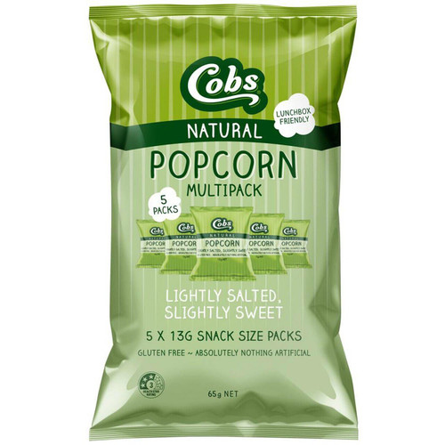 Cobs Popcorn Multipack Sweet&Salted 5 x 13g