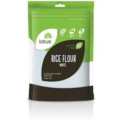 Lotus Rice Flour White 500g