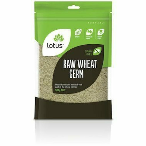 Wheat Germ Raw with OA 500g Lotus