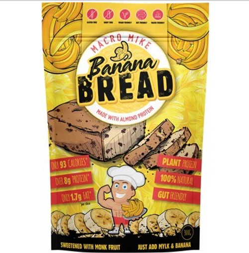 Macro Mike Almond Protein Bread Baking Mix Banana Bread 300g