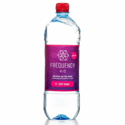 Frequency H2O Alkaline Spring Water Love 1L x 12