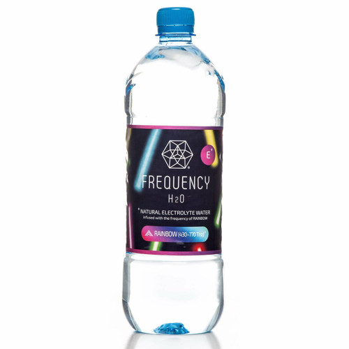 Frequency H2O Alkaline Spring Water Rainbow 1L x 12