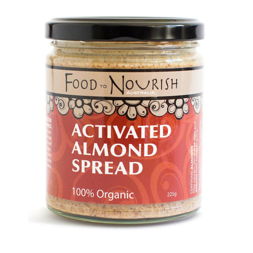 Food to Nourish Spread Sprouted Almond 225g