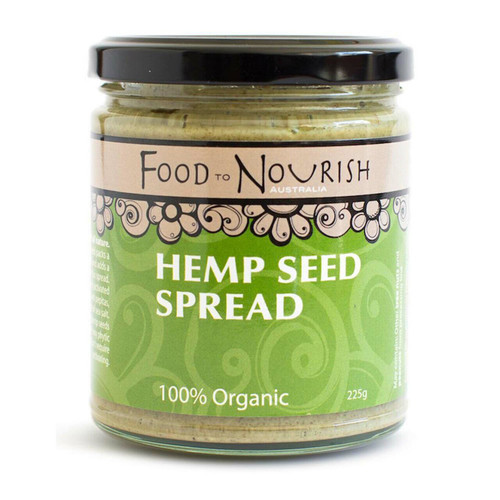 Sprouted Hemp Seed Spread