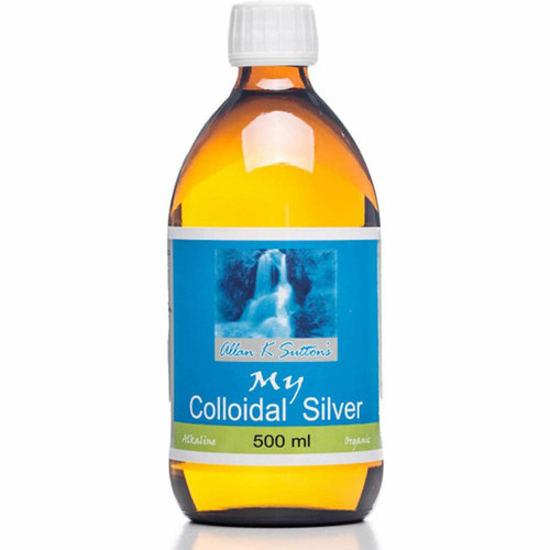 My Colloidal Silver Glass