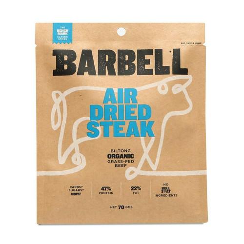 Barbell Foods Benchmark Air Dried Steak 70g