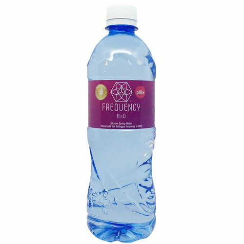 Frequency H2O Alkaline Spring Water Love 600ml x 12