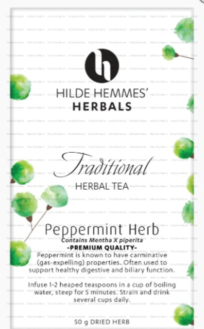 Hilde Hemmes Herbal's Tea Peppermint 50g