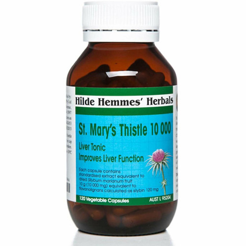Hilde Hemmes Herbal's St. Mary's Thistle 1000mg 120vc