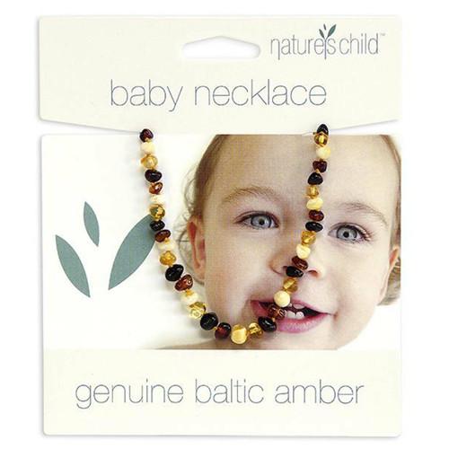 Nature's Child Amber Necklace - Mixed Colours 13g