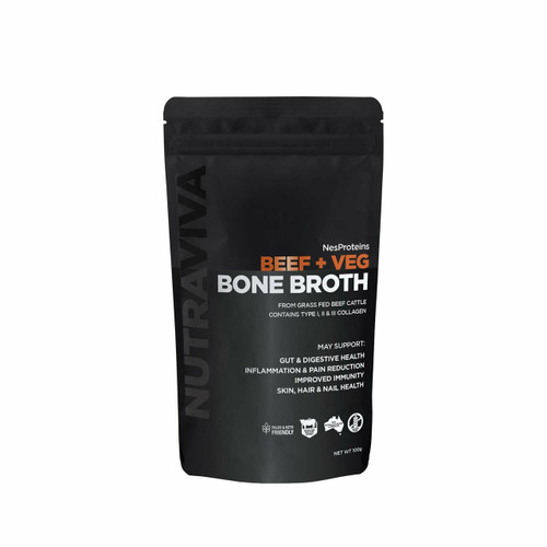 Nutraviva Beef Bone Broth Paleo 100g