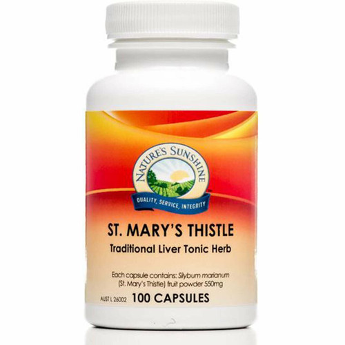 St. Mary's Thistle 550mg